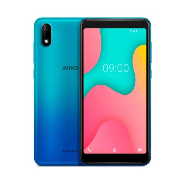 Wiko y60 azul móvil 4g dual sim 5.45'' tft fwvga+/4core/16gb/1gb ram/5mp/5mp