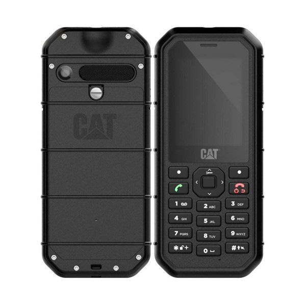 Cat b26 negro telefono rugerizado movil 2g 2.4'' 2mp 8gb ram ip68 bluetooth
