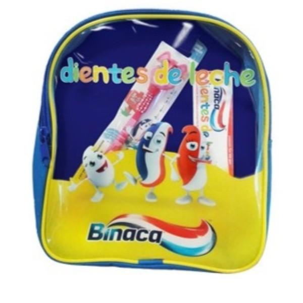 Binaca Mochila Dientes de Leche Dentífrico 50 ml + Cepillo 1 ud