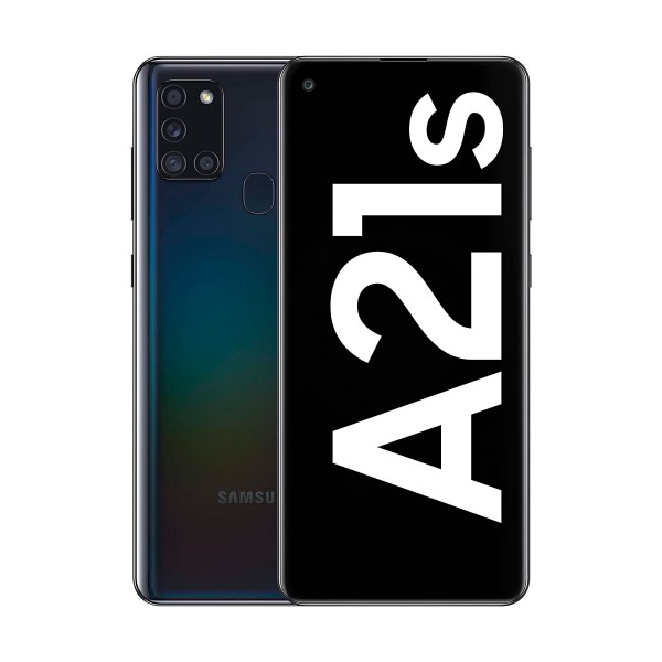 Samsung galaxy a21s negro móvil 4g dual sim 6.5'' lcd hd+ octacore 32gb 3gb ram quadcam 48mp selfies 13mp