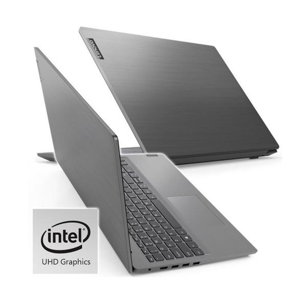 Lenovo v15 gris portátil 15.6'' lcd led hd i3-1005g1 512gb-m2 8gb ram windows 10 home