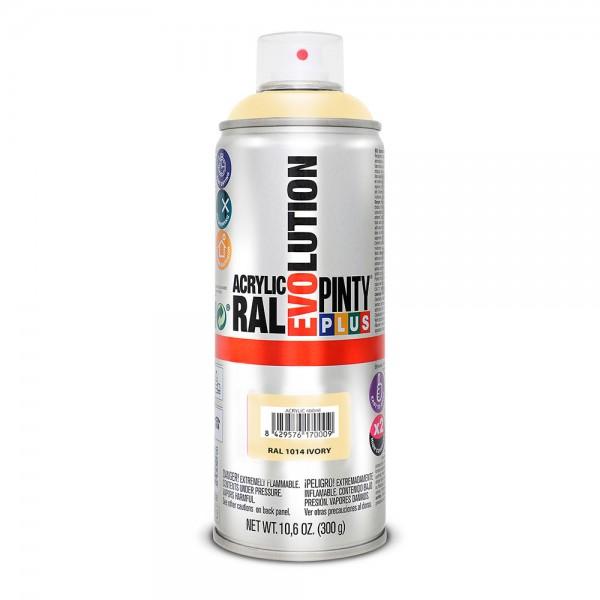 Pintura en spray pintyplus evolution 520cc ral 1014 marfil