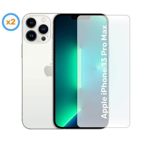 Akashi cristal protector (x2) para apple iphone 13 pro max