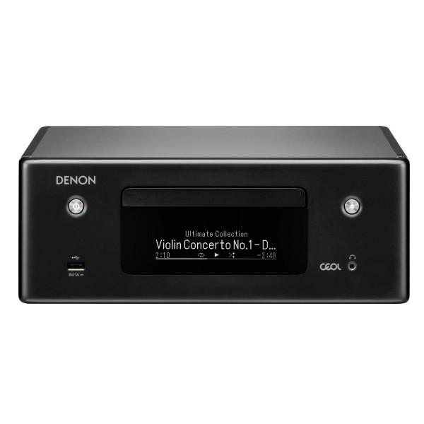 Denon rcd n10 negro/receptor cd en red/wifi/bluetooth