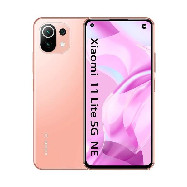 "Xiaomi mi 11 lite 5g ne naranja (peach pink) / 6+128gb / 6.55"" amoled 90hz / dual sim"